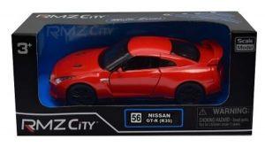 Autíčko RMZ 1:32 - Nissan GT-R ( R-35 ) - červená (mat.) barva Daffi