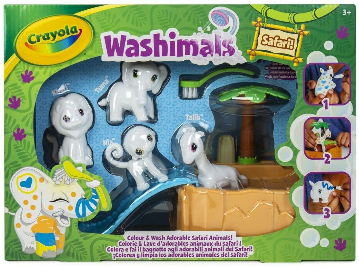 Crayola Washimals - safari
