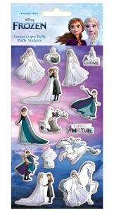 Diakakis - sada  plastických ( puffy ) samolepek - Frozen II