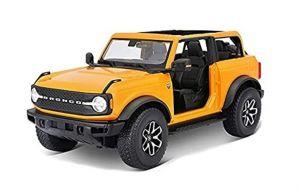 Maisto 1:18   2021 Ford Bronco Badlands - oranžová  barva