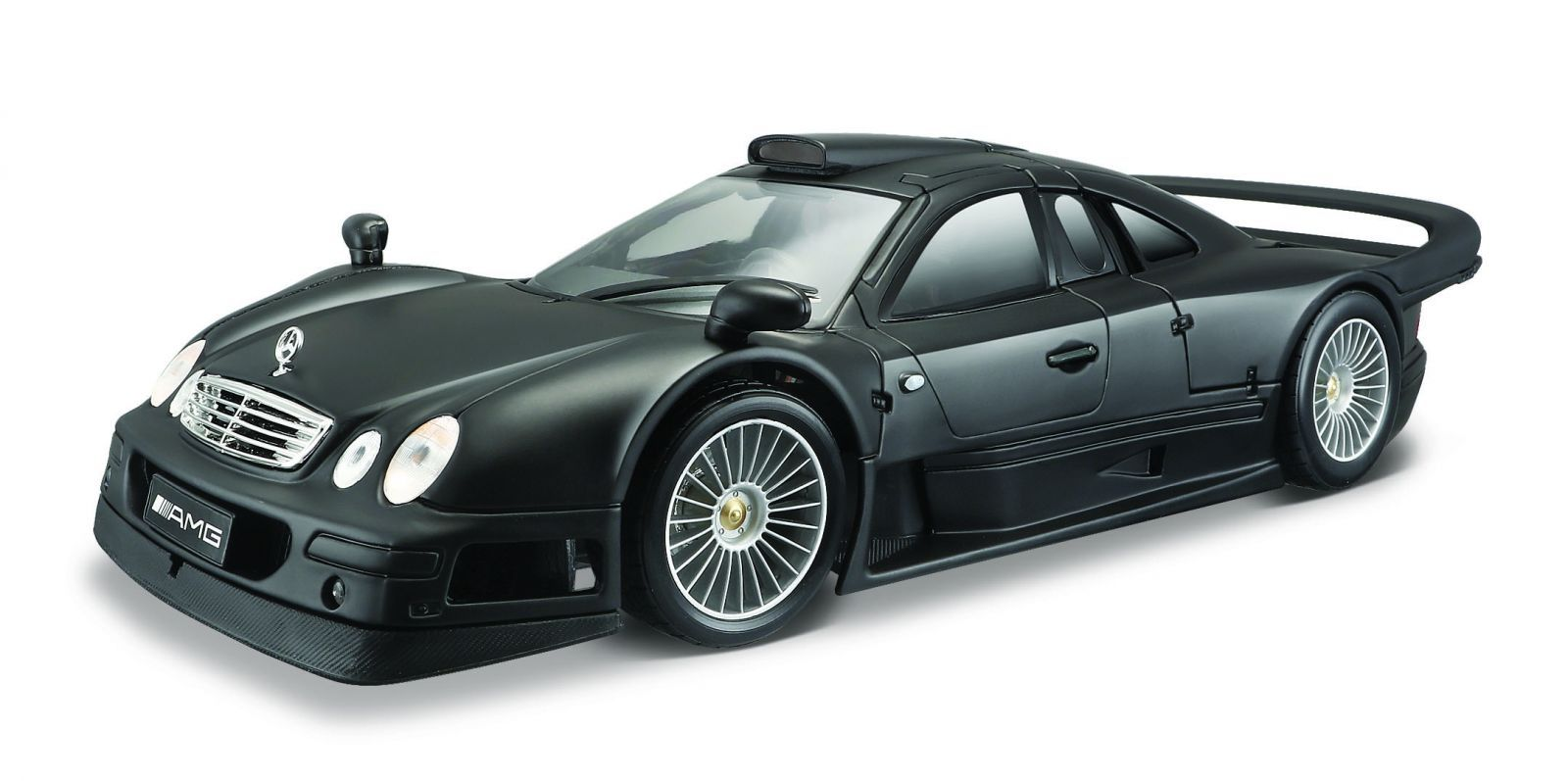 Maisto 1:18 Mercedes Benz CLK GTR - černá barva