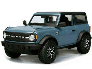 Maisto  1:24  Ford Bronco Badlands 2021   - modrá barva