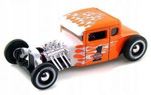 Maisto 1:24 HD - Ford  Model A - oranžovo bílá kombinace barev