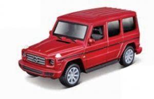 Maisto 21001 PR  Mercedes  Benz G-Class  - červená  barva