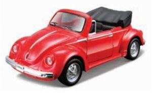Maisto 21001 PR  VW 1303 Cabriolet - červená  barva