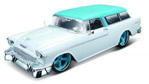 Maisto - auto 1:18 Design -  Chevrolet Nomad  1955 -  bílo modré