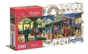 Puzzle Clementoni 1000 dílků  panorama - Sváteční kolekce A  39577