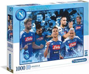 Puzzle CLEMENTONI 1000 dílků - SSC Neapol  39539   2