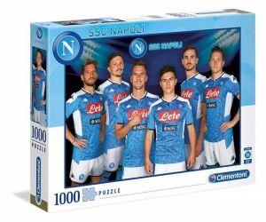 Puzzle CLEMENTONI 1000 dílků - SSC Neapol  39358  1