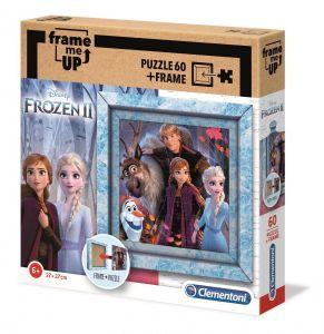 Puzzle Clementoni 60 dílků FRAME - Frozen II  38803