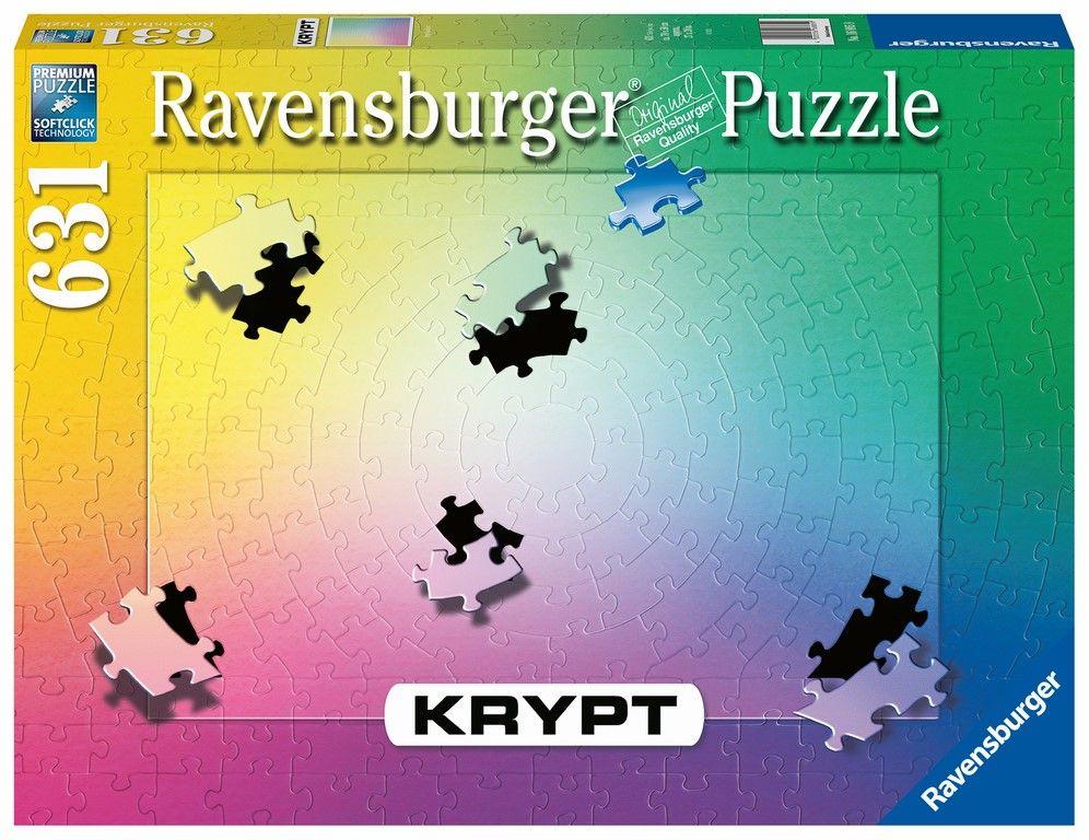 Puzzle Ravensburger 654 dílků - Krypt - grandient 168859