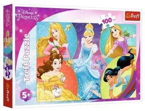 Puzzle Trefl 100 dílků -  Princezny 16419