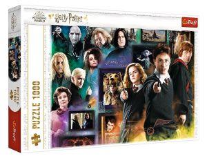 Puzzle Trefl  1000 dílků  - Harry Potter - koláž  10668