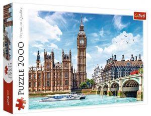 Puzzle Trefl 2000 dílků - Big Ben - Londýn 27120