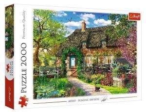 Puzzle Trefl 2000 dílků - Dominic Davison - Vesnický domek  27122