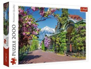 Puzzle Trefl 2000 dílků - Merano - Itálie 27115
