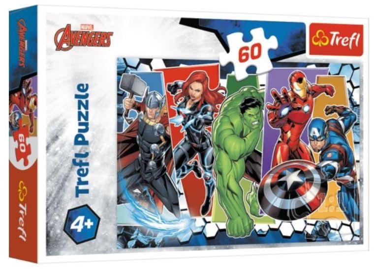 Puzzle Trefl - 60 dílků - Avengers 17357
