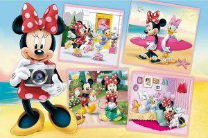 Puzzle Trefl - 60 dílků - Minnie Mouse 17360