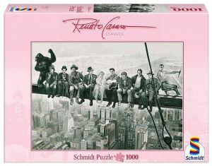 Schmidt puzzle  1000 dílků - Renato Casaro - Čas oběda Přestávka  72945