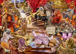 Schmidt puzzle 1000 dílků - Steve Sundram - Hudební mánie 96644