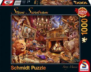 Schmidt puzzle  1000 dílků - Steve Sundram - Příběhová  mánie  96613
