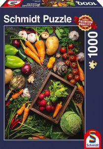 Schmidt puzzle  1000 dílků - Zdravé jídlo  83989