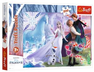 TREFL Puzzle  200 dílků -Frozen II 13265