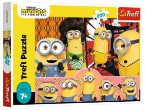 TREFL Puzzle  200 dílků - Mimoni 13264