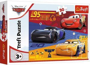 Trefl puzzle  30 dílků  - CARS 18274