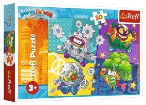 Trefl puzzle  30 dílků  - Super Zings  18278