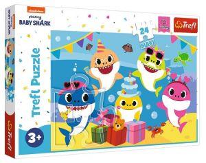 Trefl Puzzle Maxi 24 dílků - Baby Shark  14337