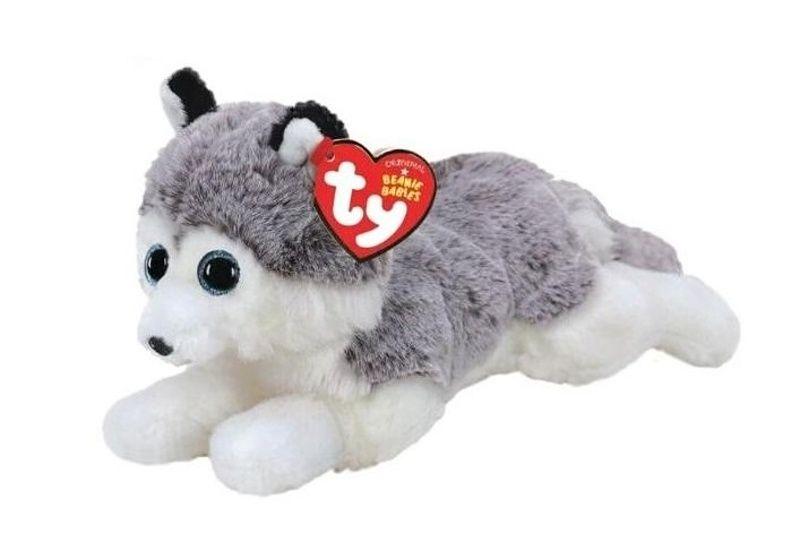 TY Beanie Babies - Baltic - pejsek husky 50043 - 15 cm plyšák