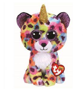 TY Beanie Boos -  Giselle - leopard s rohem  36453  - 24 cm plyšák