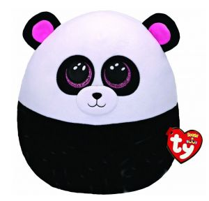 TY - plyšový polštářek - zvířátko  22 cm -  panda  Bamboo  39292