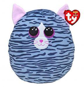 TY - plyšový polštářek - zvířátko  30 cm - kočička Kiki  39190