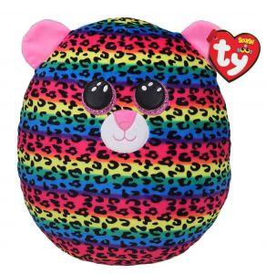 TY - plyšový polštářek - zvířátko  30 cm - leopard  Dotty  391886