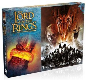 Winning Moves - puzzle 1000 dílků - Pán prstenů - Vládce Mordoru