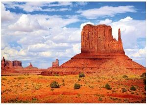 1000 dílků  - Monument Valley  - USA  -  puzzle Trefl