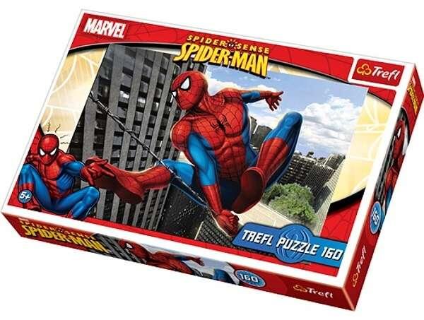 160 dílků - Spiderman - puzzle Trefl 15221