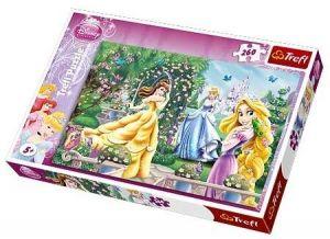 260 dílků - Princezny - pocházka před plesem  -  puzzle   Trefl