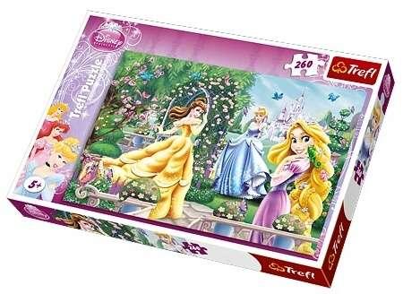 260 dílků - Princezny - pocházka před plesem - puzzle Trefl 13141