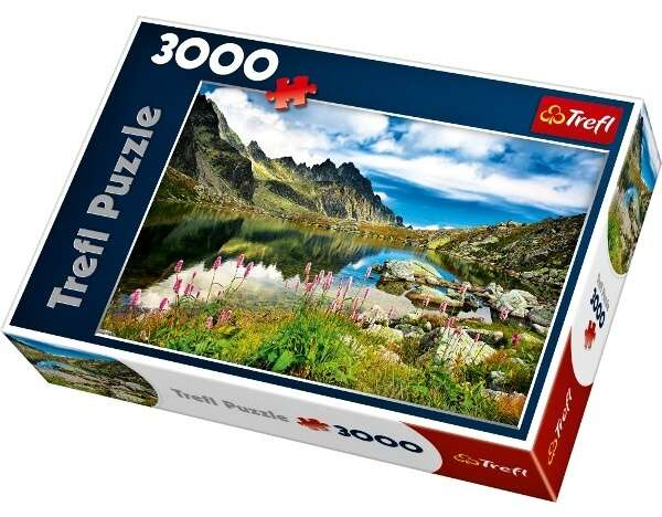 3000 dílků Starolesnianské pleso - Tatry - Slovensko - puzzle Trefl 33031