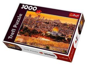 3000 dílků  Střechy v Jeruzalému -  puzzle Trefl