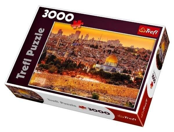 3000 dílků Střechy v Jeruzalému - puzzle Trefl 33032