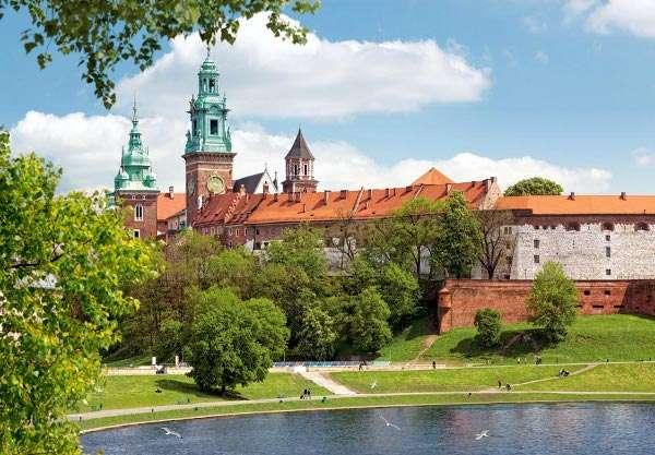 Castorland - Hrad Wawel - Puzzle 1000 dílků art. 102334