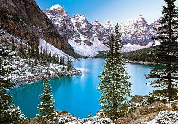 Castorland - Kanada - horské jezero - Puzzle 1000 dílků art. 102372