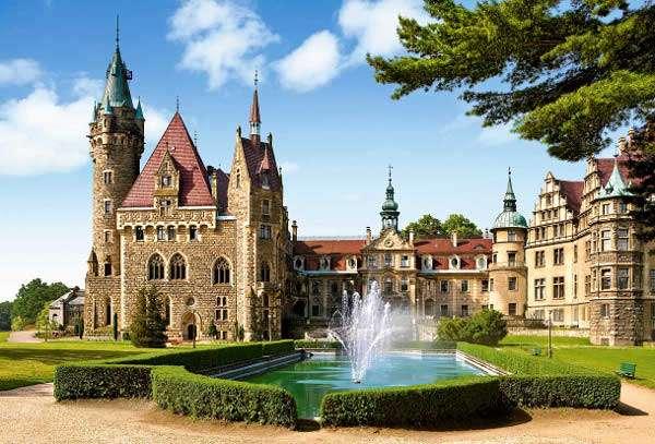 Castorland - Zámek Moszna Polsko - Puzzle 1500 dílků art. 150670