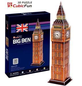 3 D Puzzle CubicFun - Big Ben  30 d.