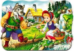 puzzle Castorland  30 dílků  - Červená Karkulka  - 03020