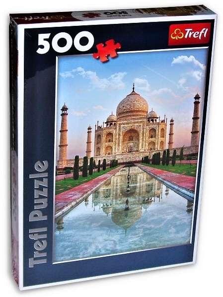 500 dílků - Tádž Mahal - puzzle Trefl 37164